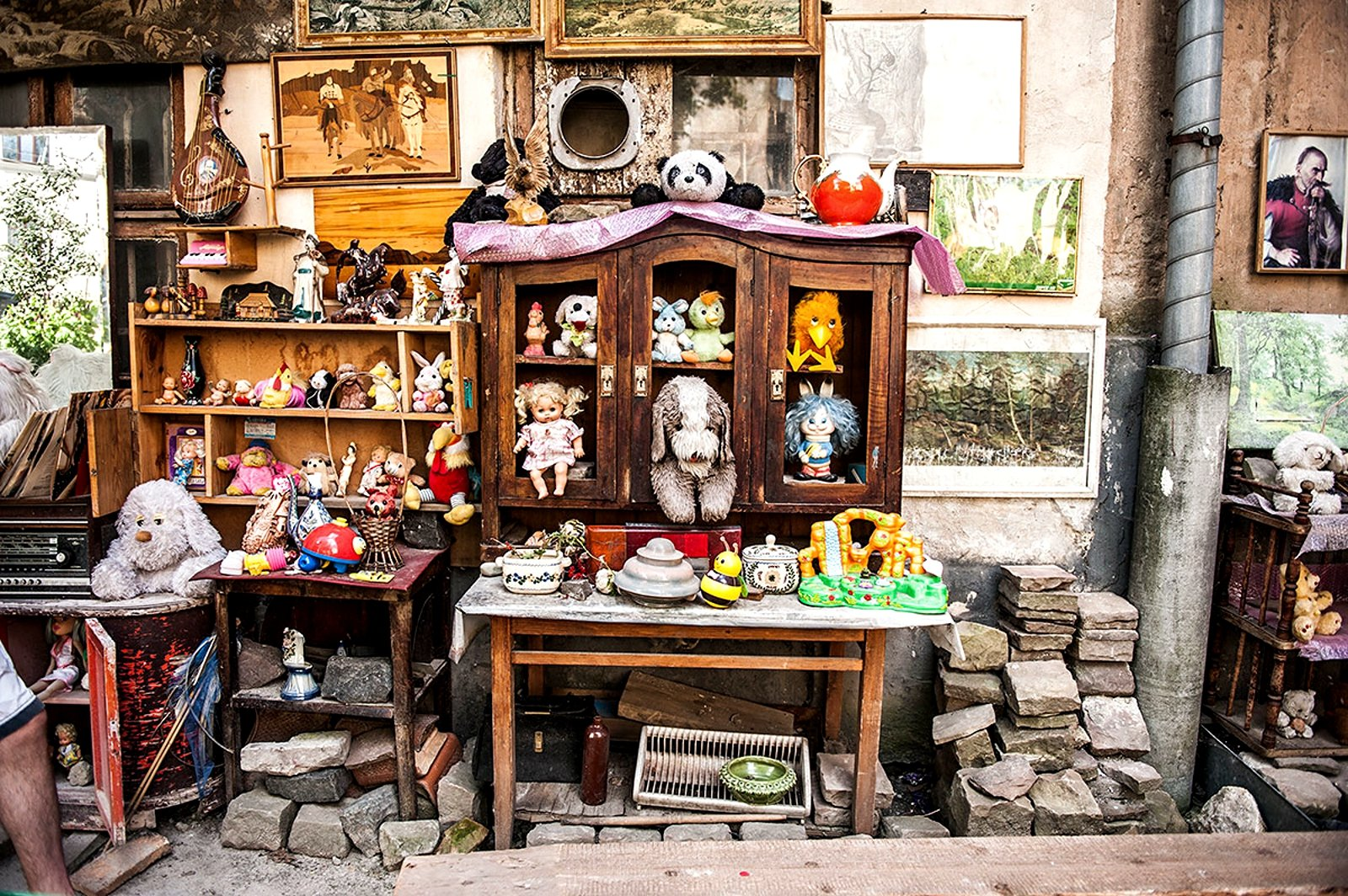 How to find the yard of lost toys in Lviv