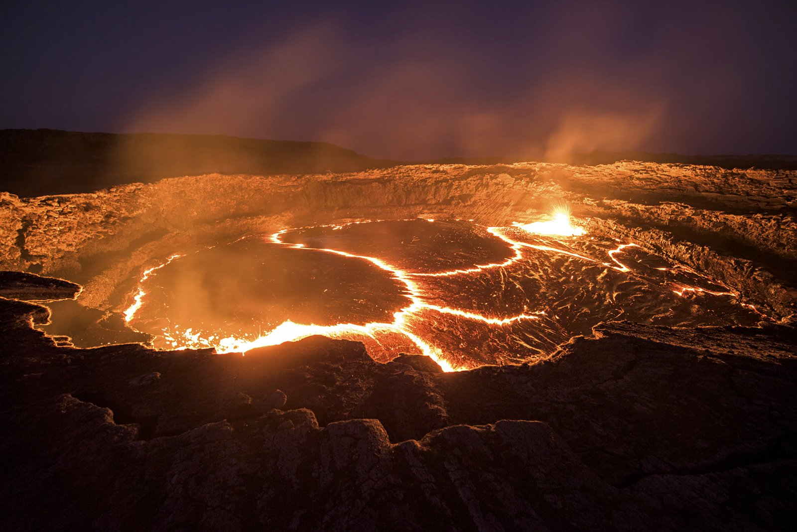 How to see the lake of boiling lava in Addis Abeba