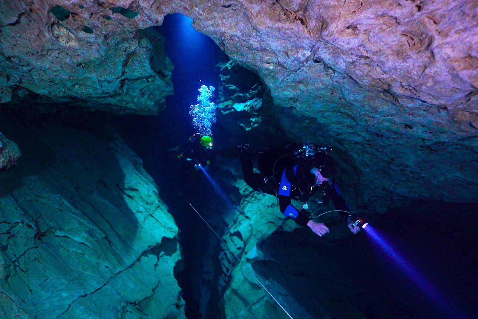 How to go underground cave diving in Budapest