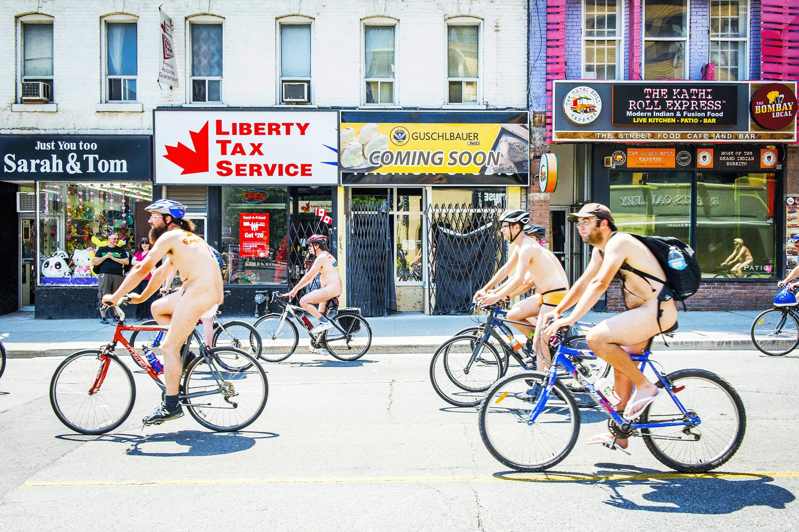How to take part in World Naked Bike Ride in Toronto