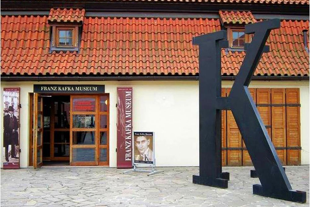 How to go to the Franz Kafka museum in Prague
