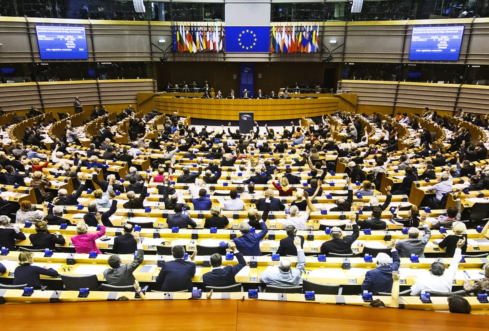 How to attend session of the European Parliament in Brussels