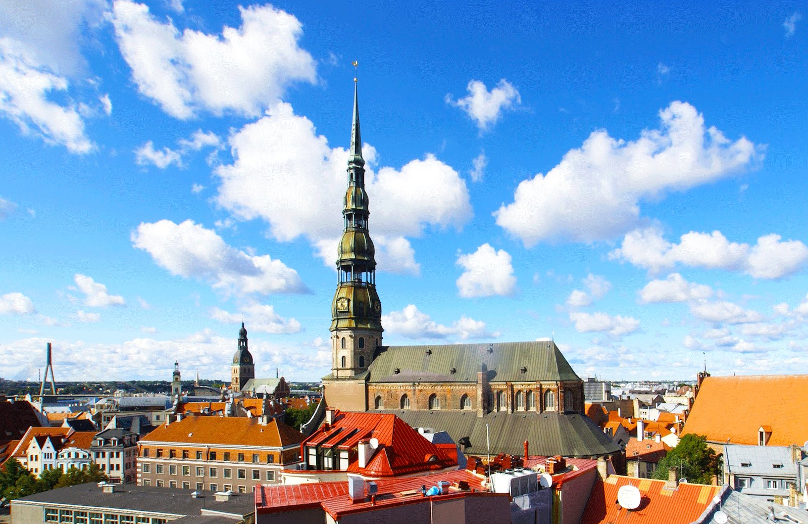 How to climb the highest tower in Riga