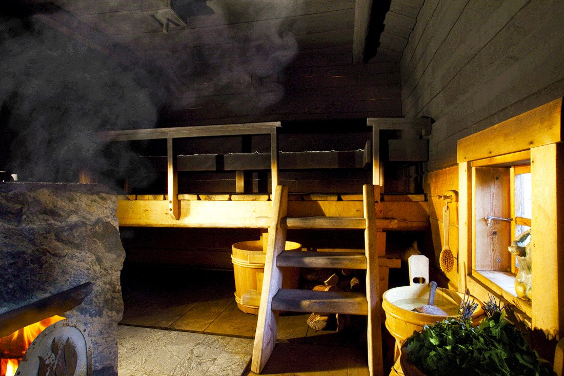 How to take Finnish smoke steam-bath in Helsinki
