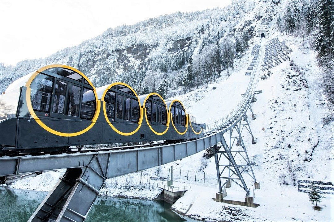 How to take a world's fastest funicular ride in Schwyz