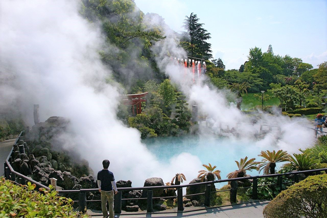 How to see the Nine Hells of Beppu in Fukuoka