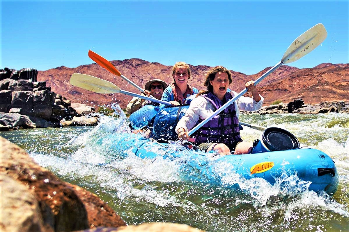 How to go rafting between two countries in Karasburg