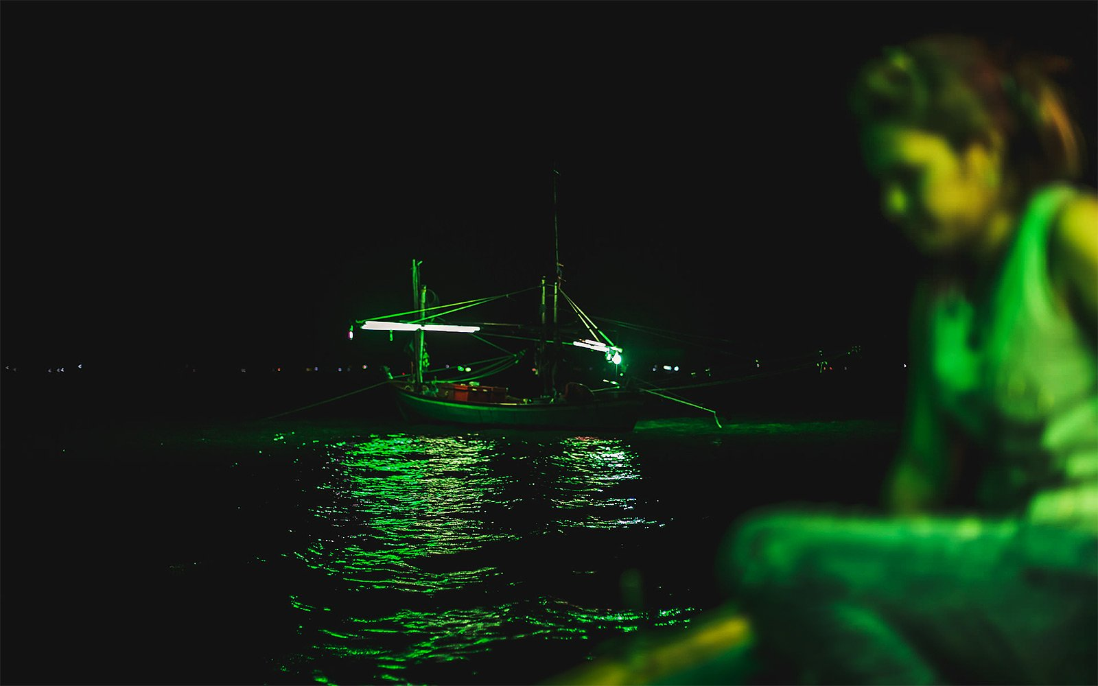 How to night-Time Squid Fishing in Pattaya
