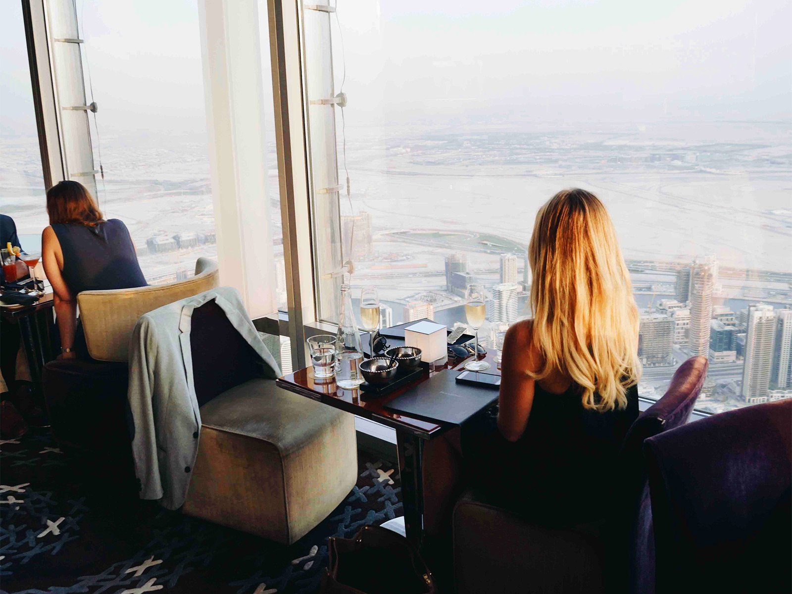 How to dinner at 495-meter height in Dubai