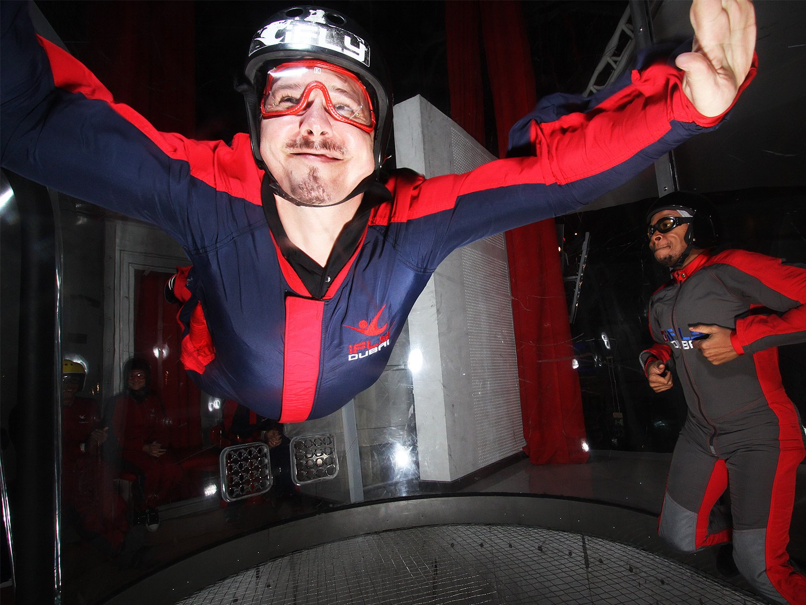 How to fly in a wind tunnel in Dubai