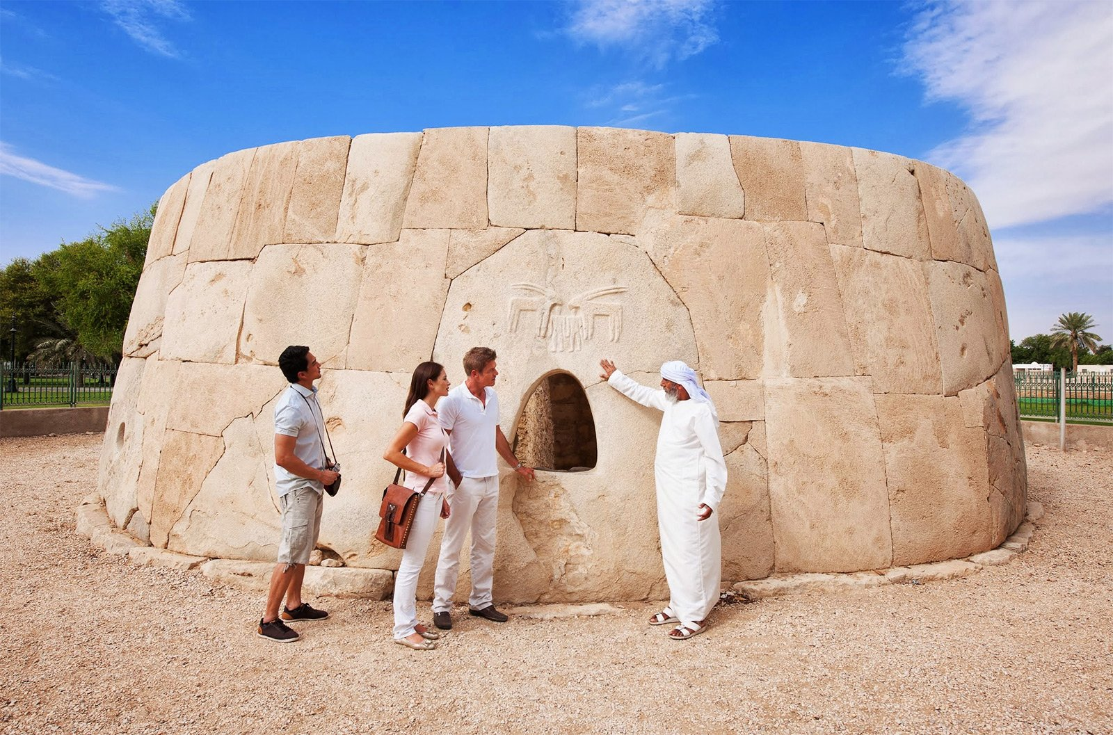 How to see the Hili Tomb in Al Ain