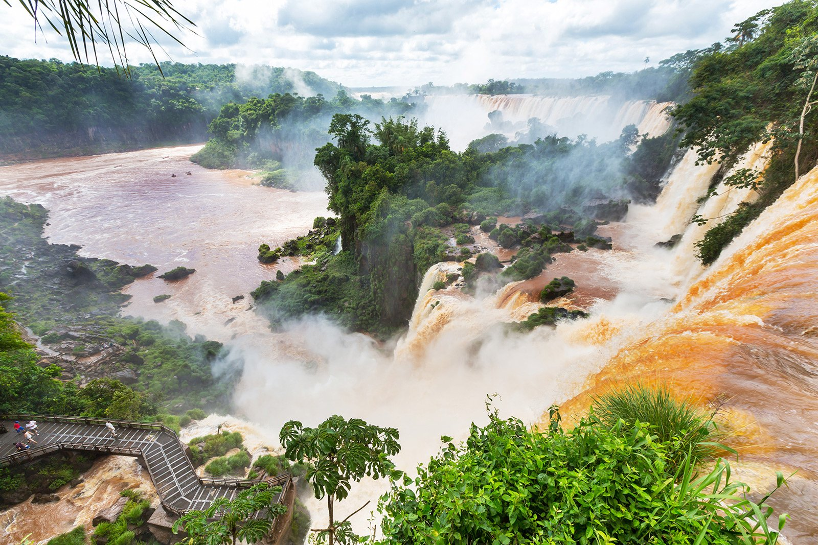 How to see the Iguacu Waterfalls from the helicopter in Rio de Janeiro