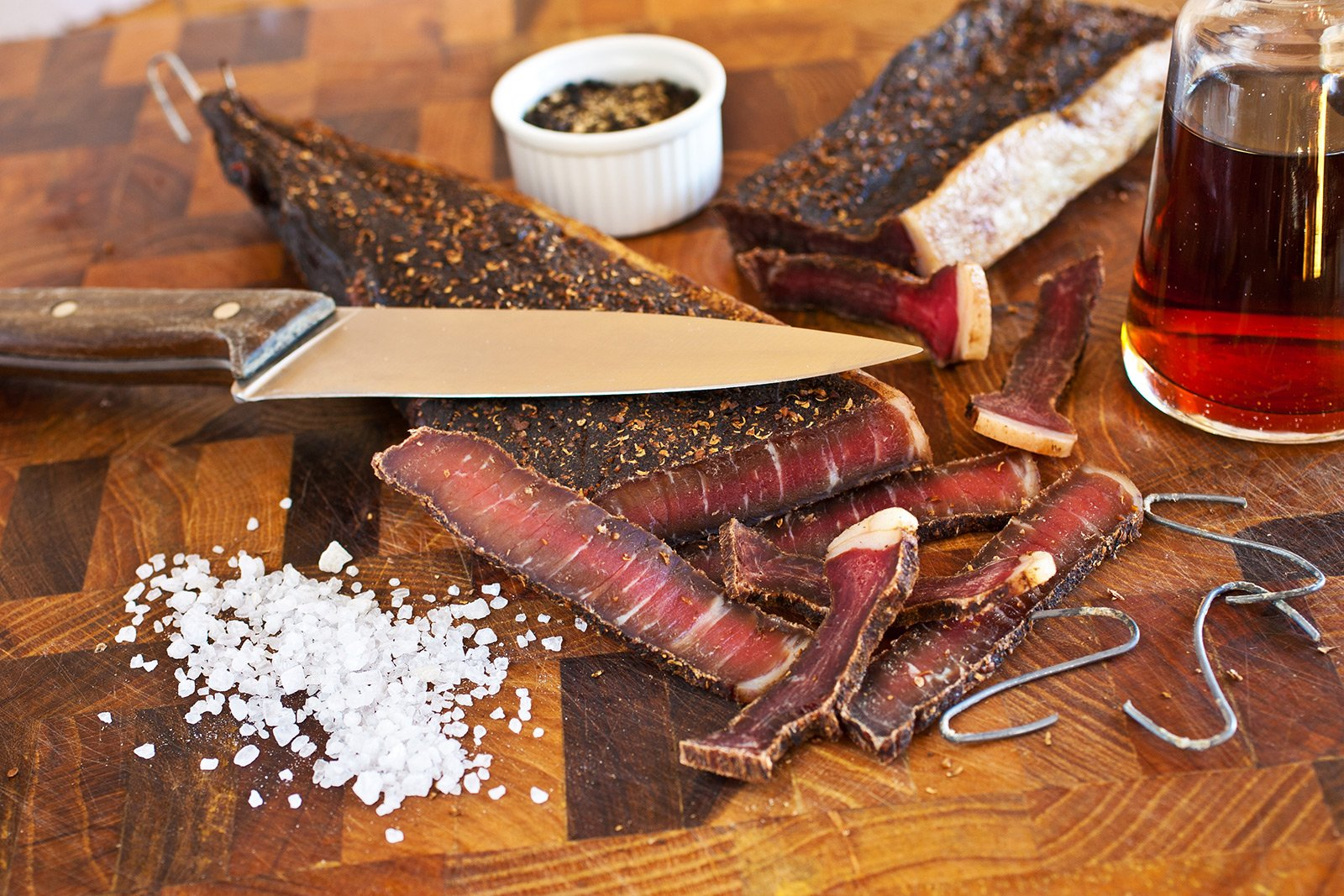How to taste biltong in Cape Town