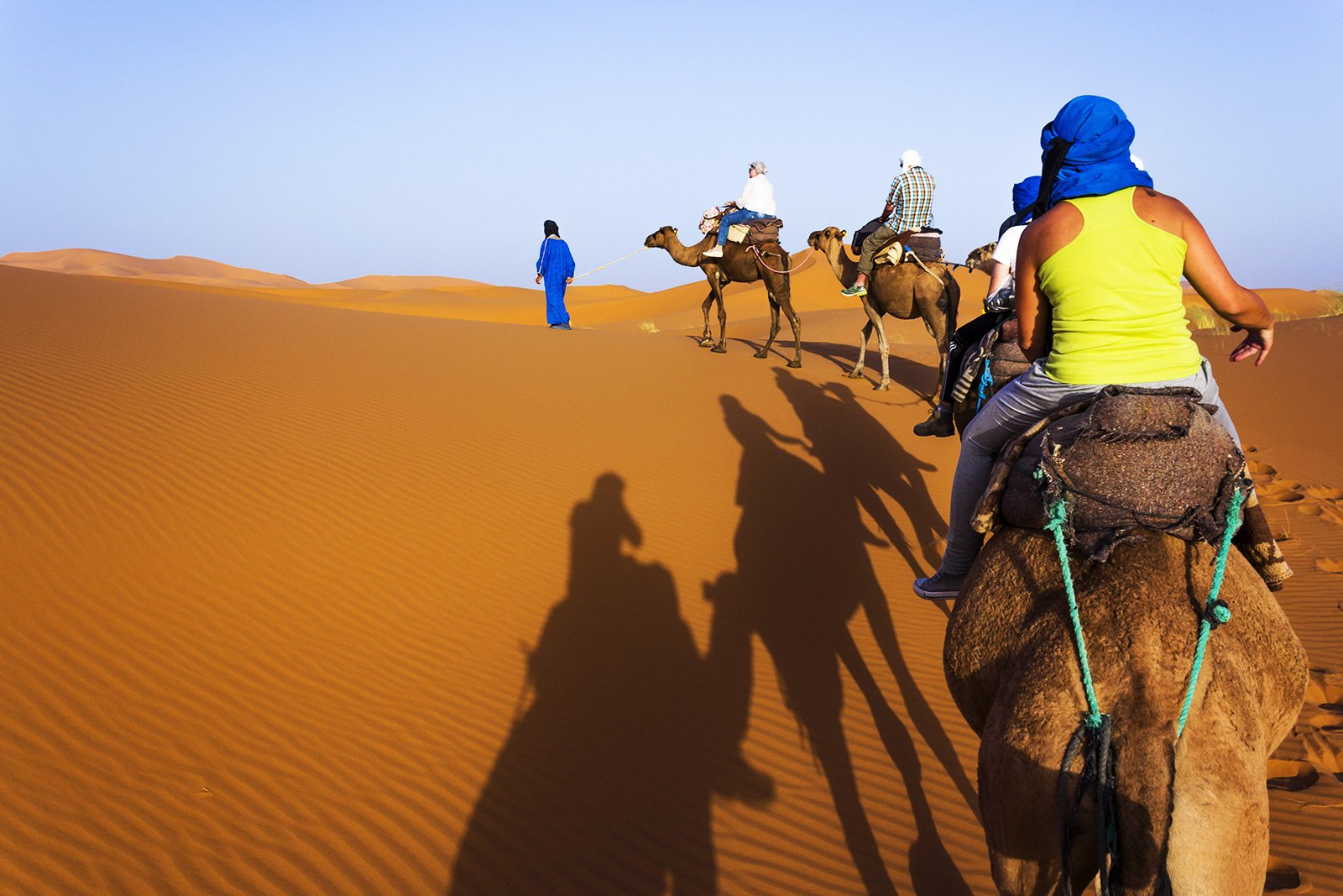 How to ride a camel in the Sahara in Marrakesh