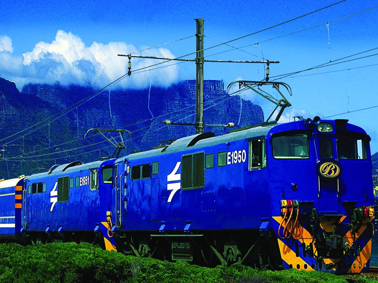 How to ride on the Blue Train in Cape Town