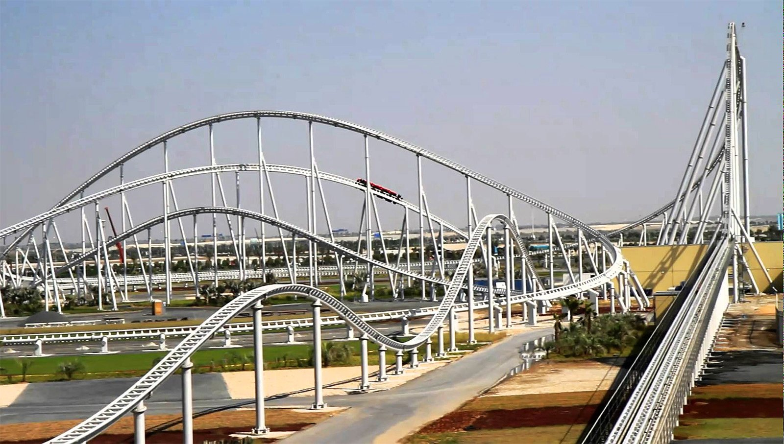 How to ride the most speedy roller coaster in the world in Abu Dhabi