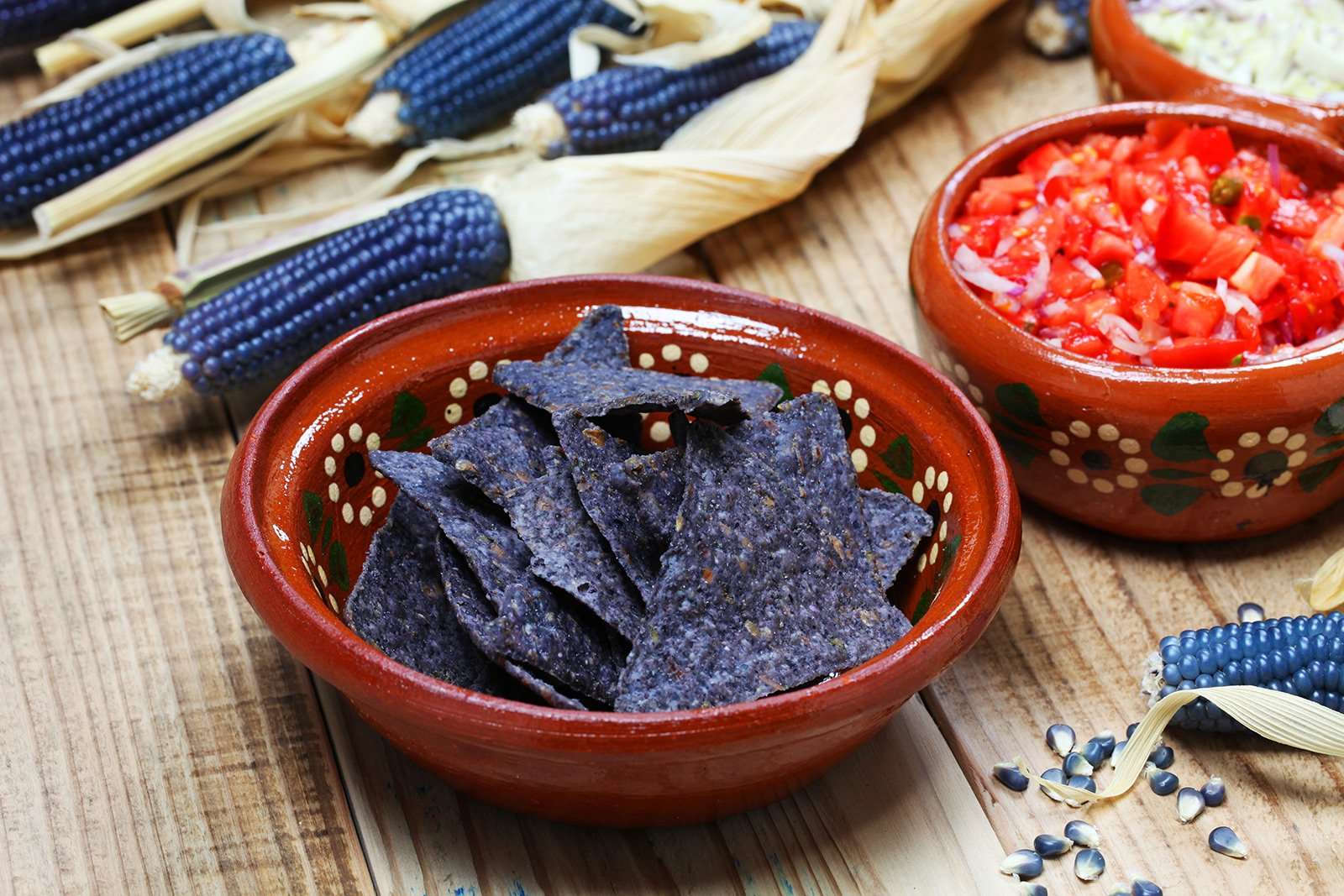 How to taste blue corn tortilla in Mexico City