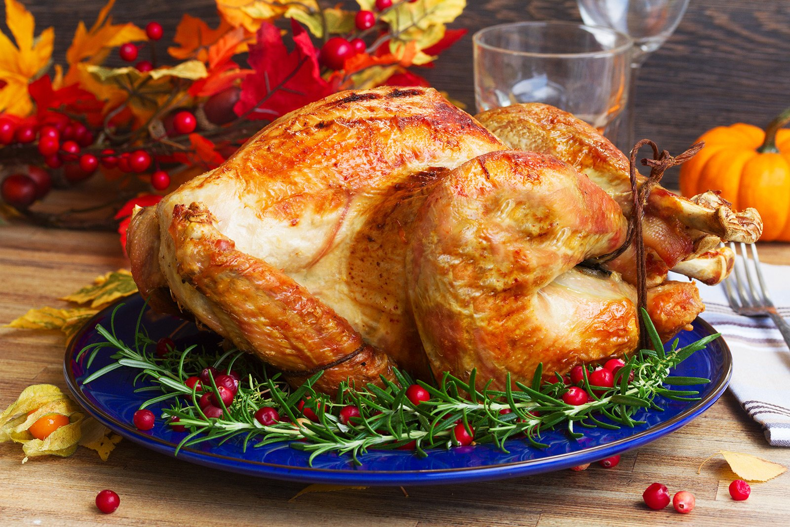 How to taste roast turkey on Thanksgiving Day in New York