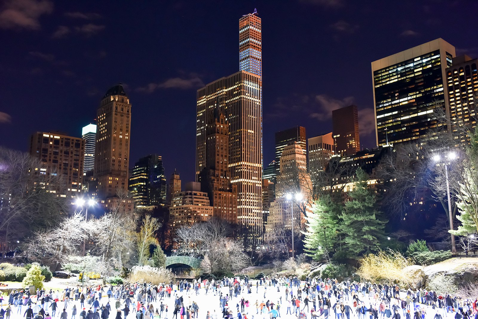 How to skate on Wollman Rink in Central Park in New York