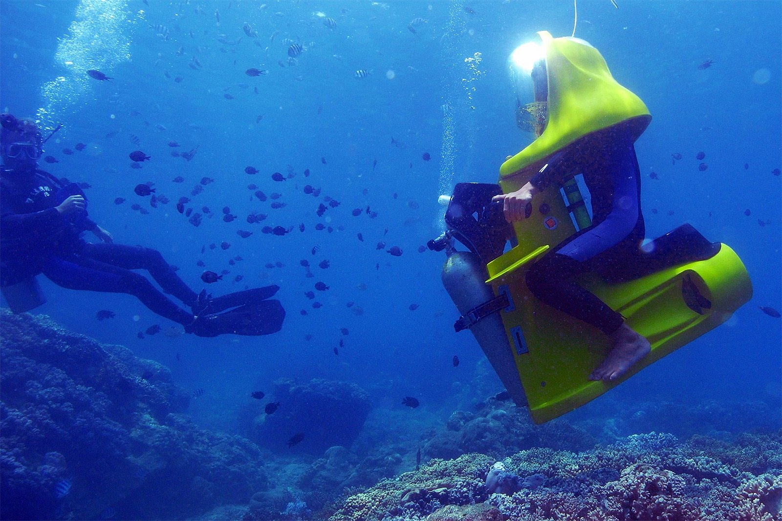 How To Ride The Underwater Bike In Phuket