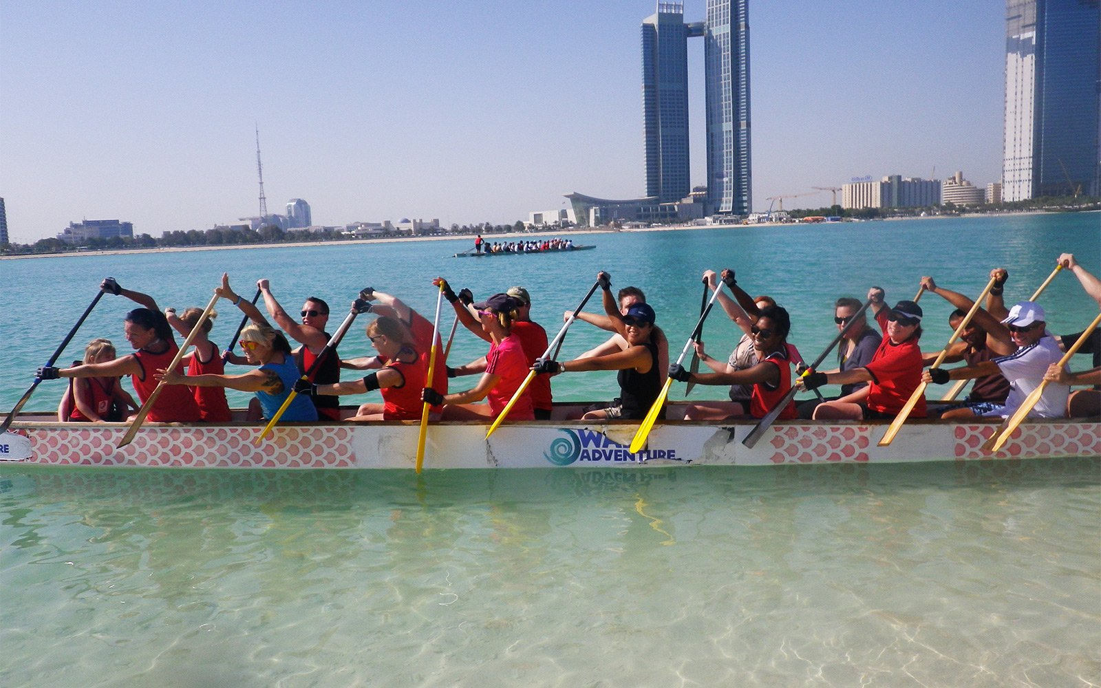 How to try dragon boating in Abu Dhabi