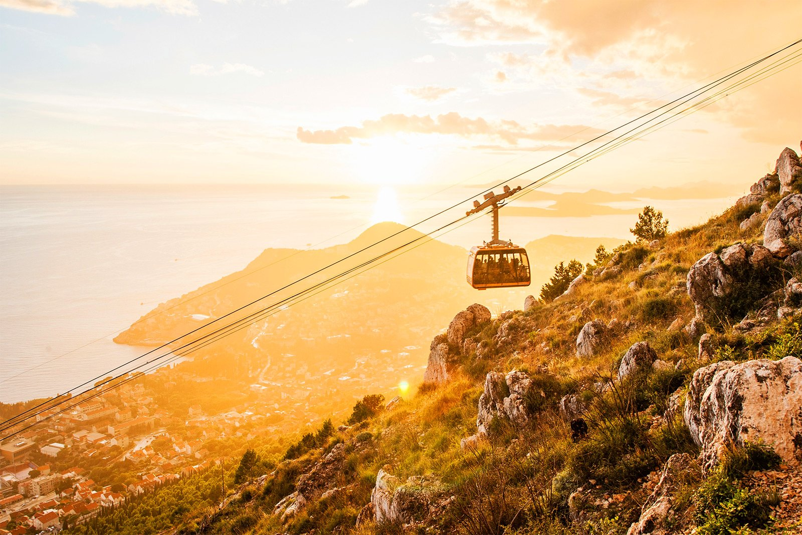 How to ride the Cable Car in Dubrovnik