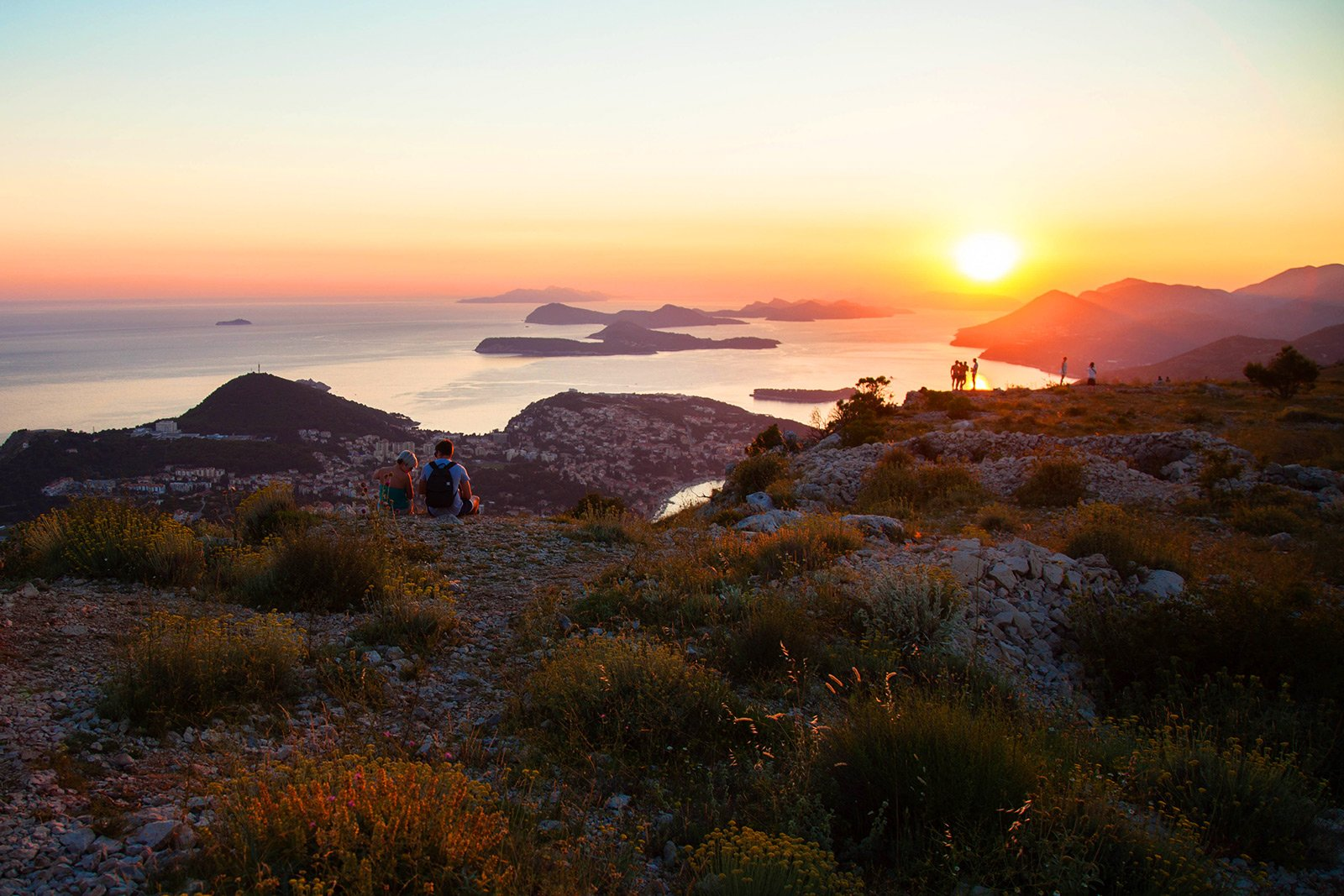 How to have a picnic on top of the Srđ mountain in Dubrovnik