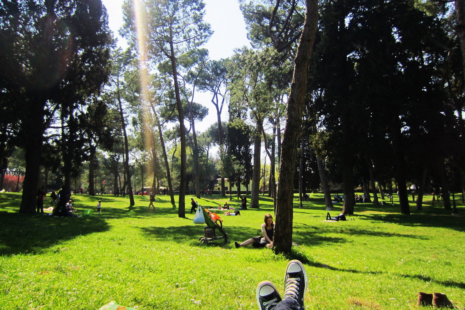 How to have a picnic in the Villa Borghese in Rome