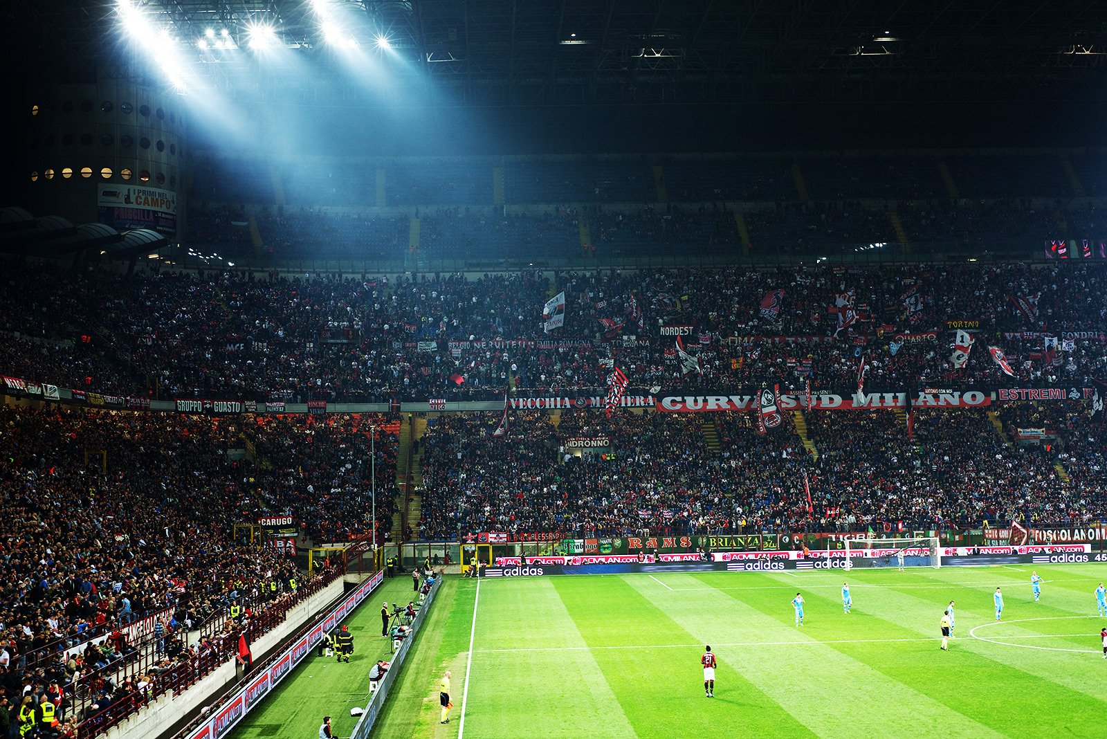 How to watch football at the San Siro stadium in Milan