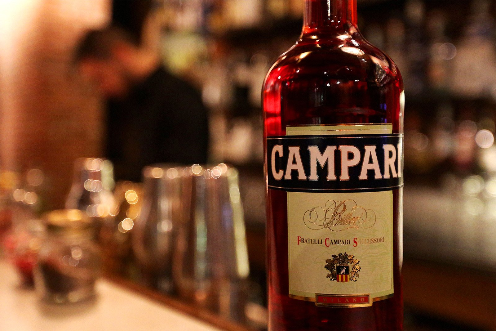 How to try campari in Milan