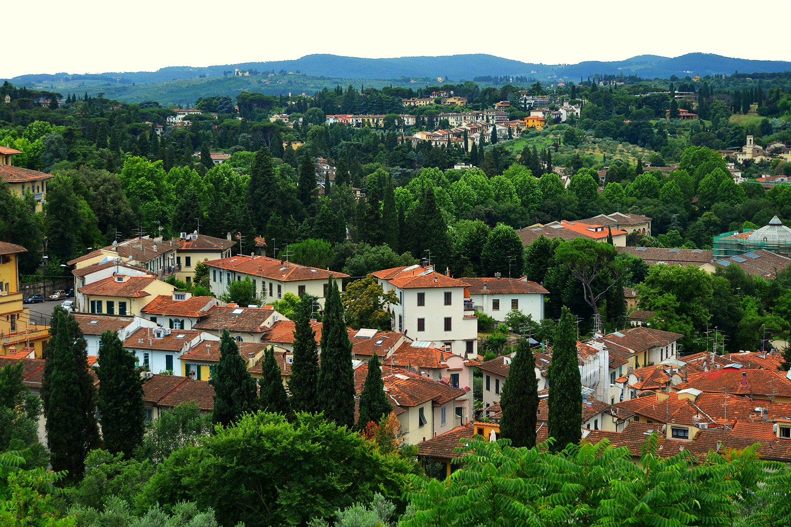 How to see the panorama of the city from the Boboli Gardens in Florence