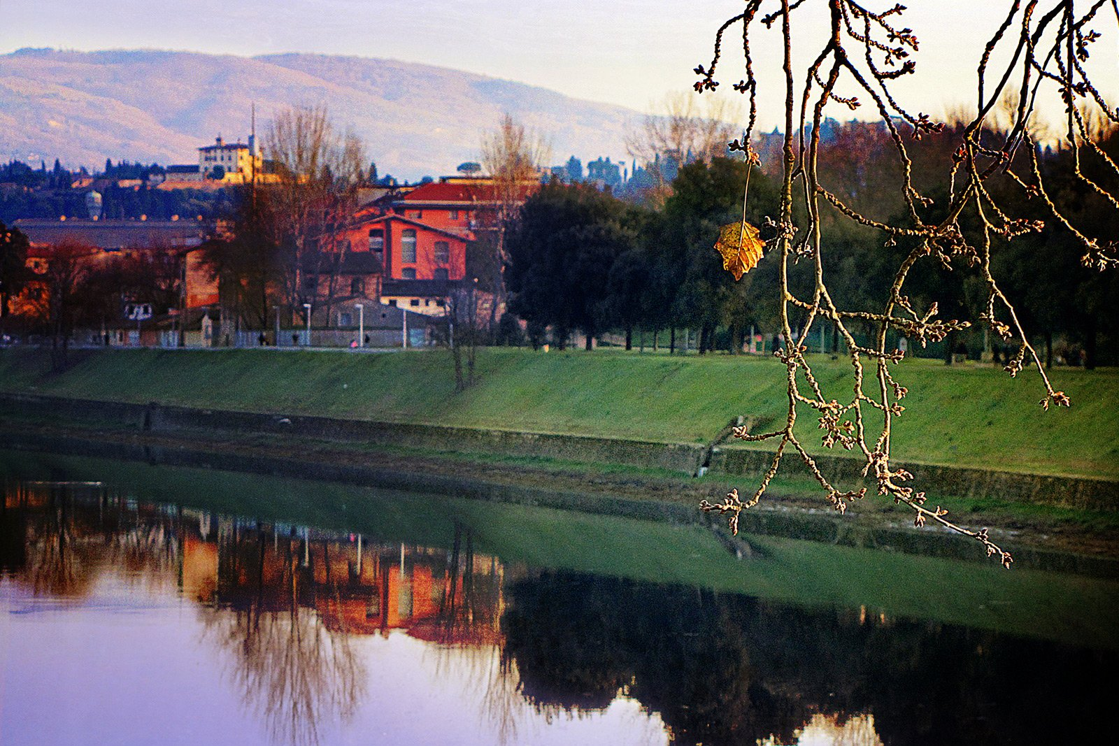 Take A Walk In The Cascine Park Florence