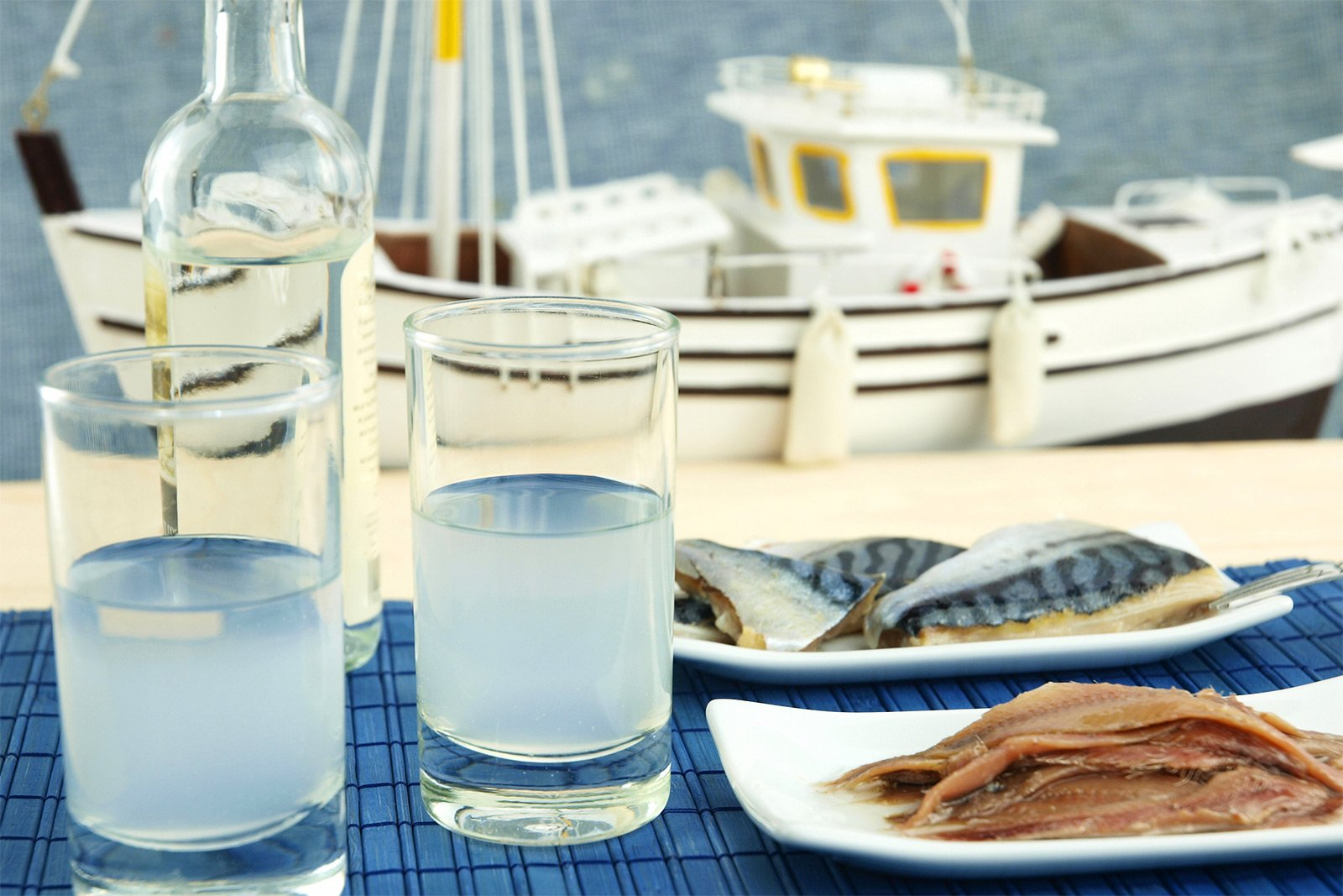 How to try Ouzo on Crete