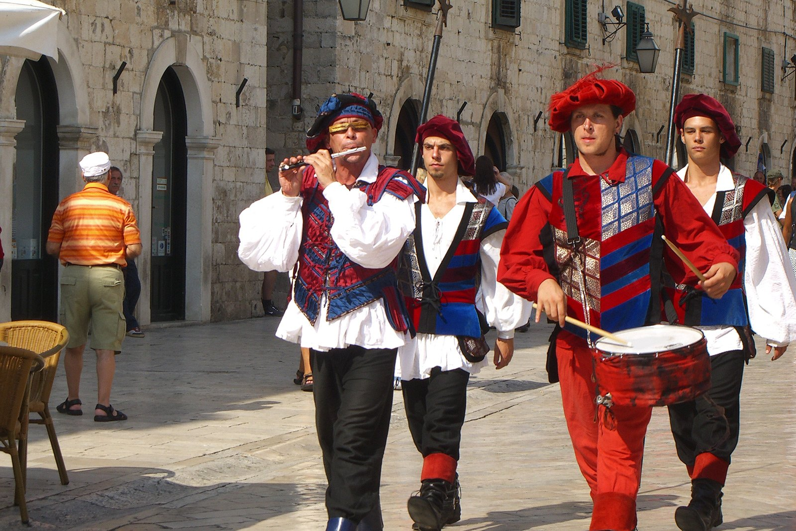 How to see the city guards of Dubrovnik in Dubrovnik