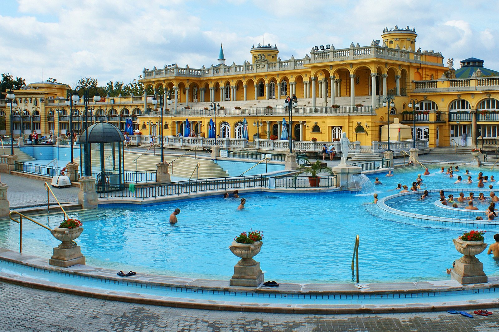How to relax in the Szechenyi Bath in Budapest