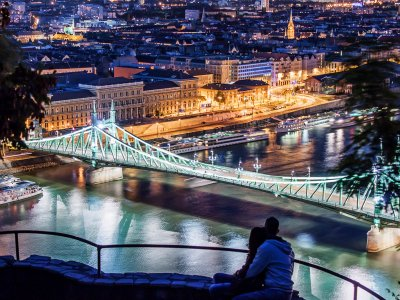 Climb on the Gellert Hill in Budapest