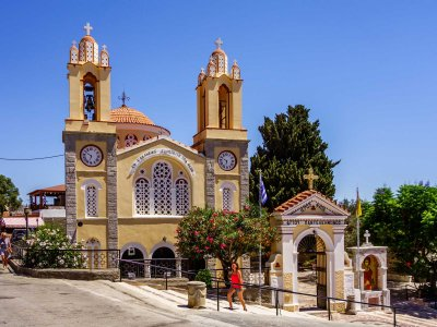 Visit the Church of St. Panteleimon on Rhodes