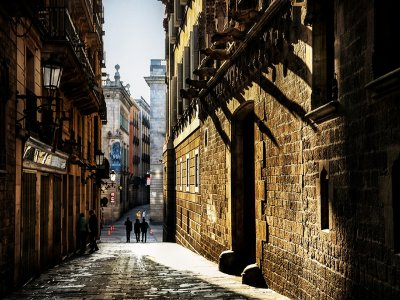 Get lost in the Gothic Quarter in Barcelona