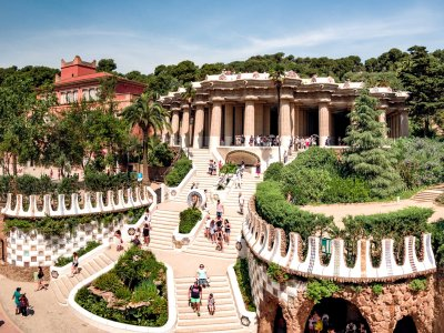 Plunge into the fairy-tale world of Park Güell in Barcelona