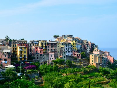 Take a walk on Corniglia in Genoa
