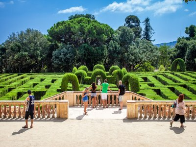 Escape from the Laberint d'Horta in Barcelona