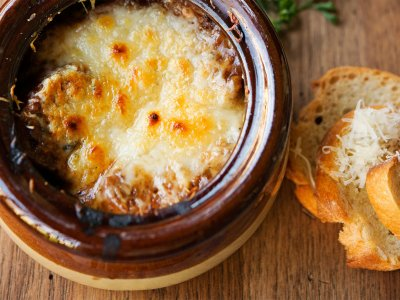 Try onion soup in Paris