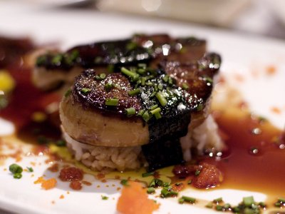 Try foie gras in Paris