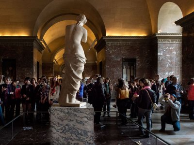 See Aphrodite of Milos in Paris