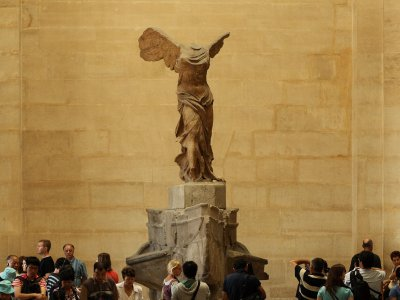 See the Nike of Samothrace in Paris