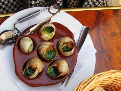 Try an escargot in Paris