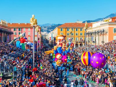 Participate in the Carnival in Nice