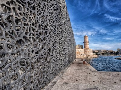 Visit the Museum of Civilizations of Europe and the Mediterranean in Marseille
