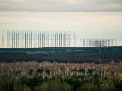 See the giant secret station Duga-radar in Chernobyl