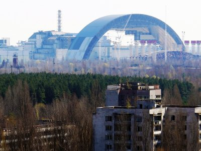 See the Sarcophagus in Chernobyl